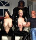 bdsm artwork, 3d spanking