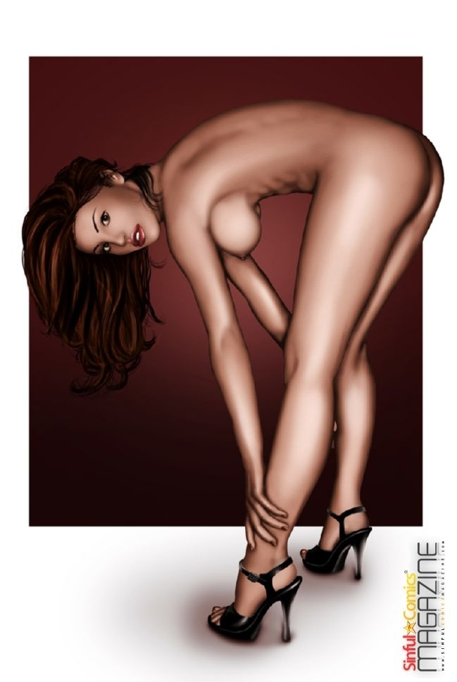 Sinful Comics Magazine: Hottest Celebrity Porn Cartoons